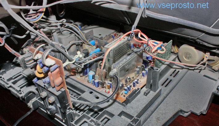 Sony KV-2184MT — не держит