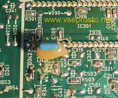 JVC шасси CG - R401 зауженая кадровая