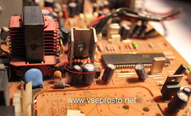 SEG CT-1410 шасси 11AK36A2