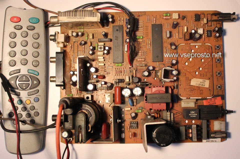 SEG CT-1410 шасси 11AK36A2 не