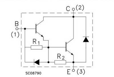 Транзистор d2499 схема