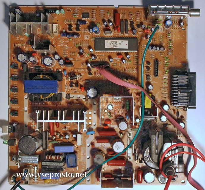 Электрическая схема телевизора samsung ck-5339tbr.