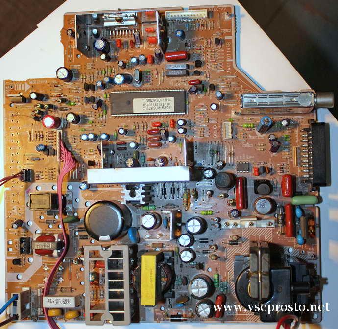 Samsung CS21M21ZQQ шасси S16B