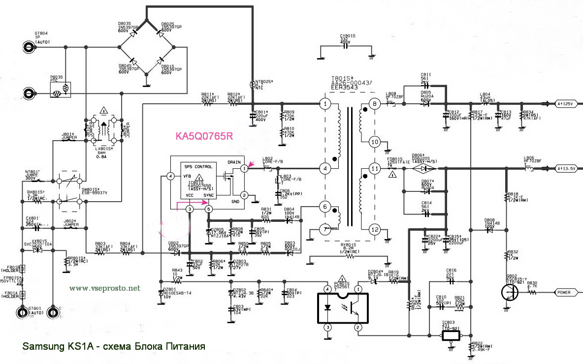 3s0680 схема включения