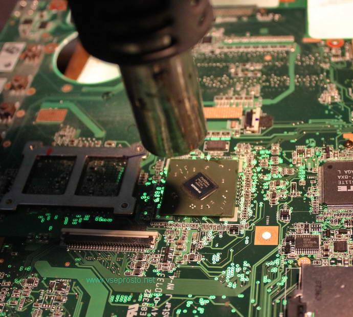 Прогрев микросхемы в домашних условиях