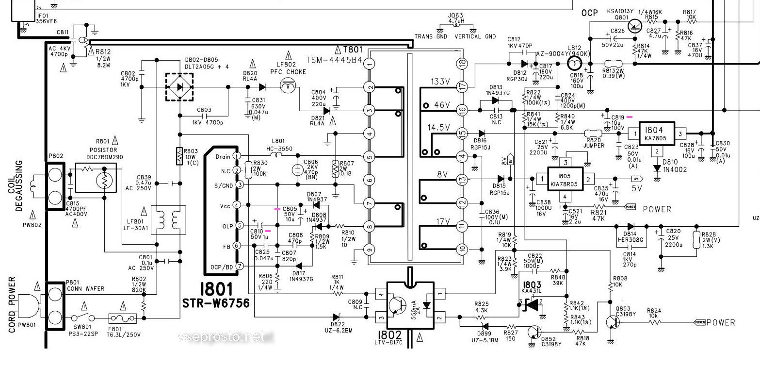 микросхемы блоков питания - pdf аналоги замены
