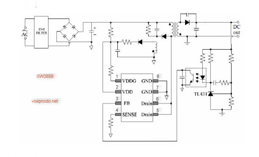 SW2658-типовая-схема.