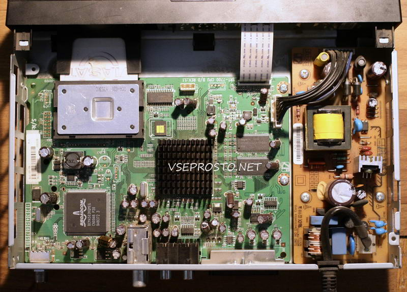 Тюнер спутниковый  Viasat SRT 7700