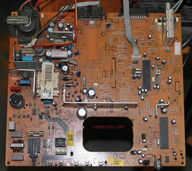 Rainford  tv5556 шасси 11ak30a4 - не запускается строчная