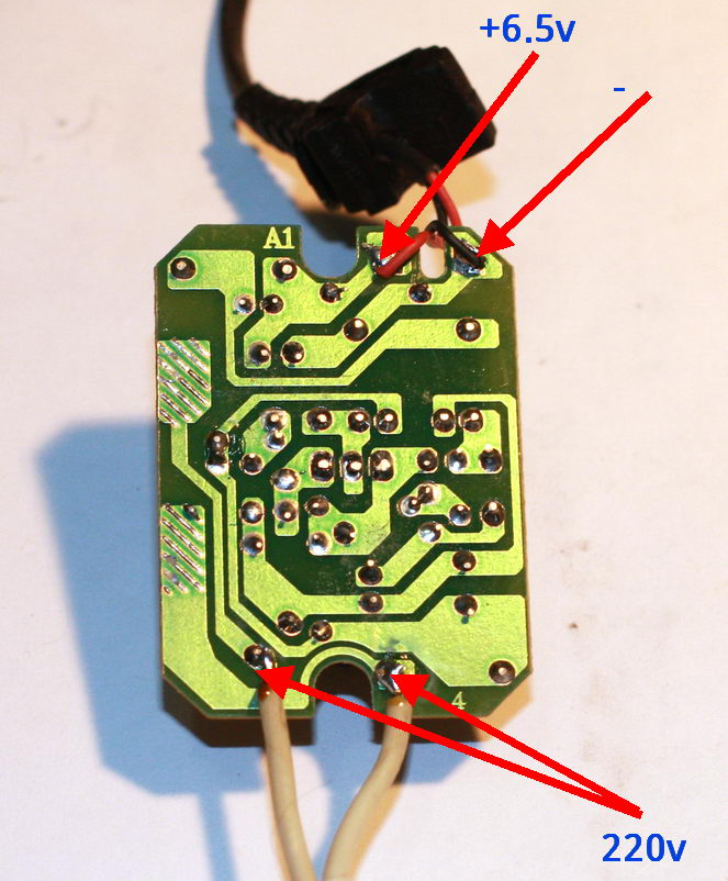 Nokia AC-3E board solder side
