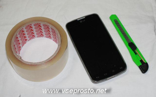 Защитная плёнка для смартфона