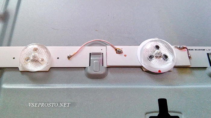 замена светодиода LCD матрицы