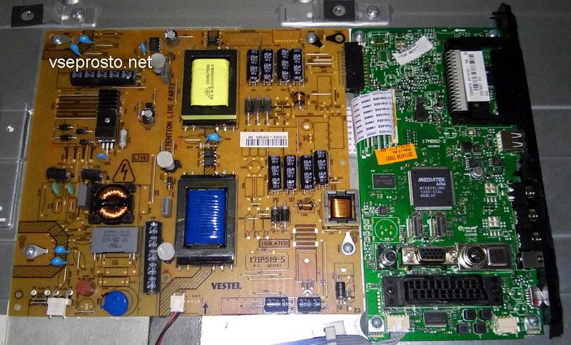 ремонт светодиодной матрицы